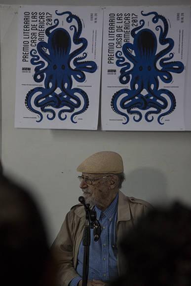El director de Casa de las Américas, Roberto Fernández Retamar. Foto: L Eduardo Domínguez/ Cubadebate