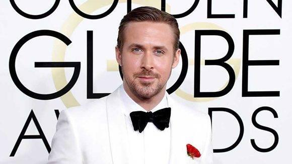 Ryan Gosling ganó su primer Globo de Oro en su quinta nominación. Foto: EFE.