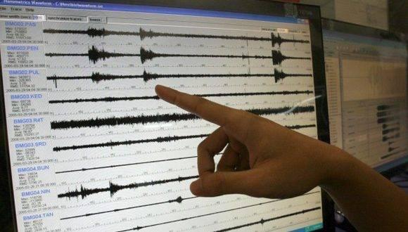Registran en Cuba sismo perceptible en zona occidental