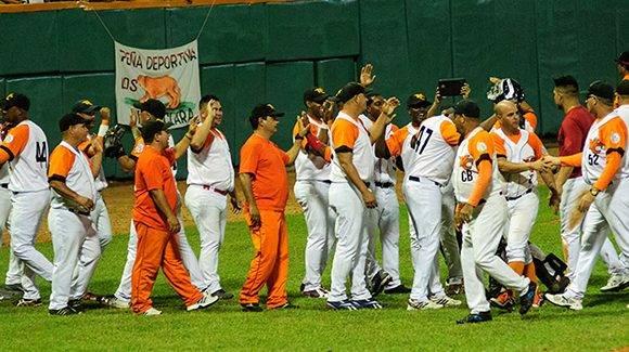 El elenco villaclareño irá hoy por el empate y dependerá del brazo del abridor Yosvani Torres. Foto: Carolina Vilches/ Vanguardia.