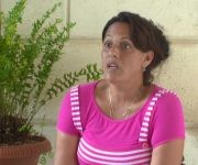 Yudith Carvajal sufre cada día por la pérdida de parte de su familia. Foto: Raúl Dávalos.