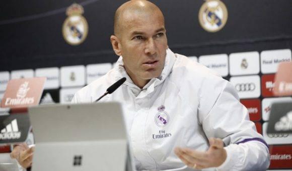 Zinedine Zidane. Foto: EFE.