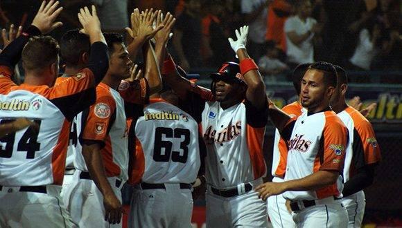 Las Águilas del Zulia podrían disputar la Serie del Caribe del 1 al 7 de febrero. Foto: El Nacional.