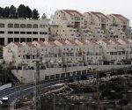 Vista general de la construcción del asentamiento Kiryat Arba en la localidad cisjordana de Hebrón (Palestina). Foto: EFE.