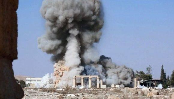 Atentado contra uno de los monumentos más famosos en Siria Foto: ahoramismo.mx