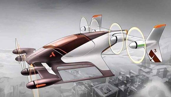 Así es el concepto de auto volador que esta desarrollando Airbus. Foto: Clarín.