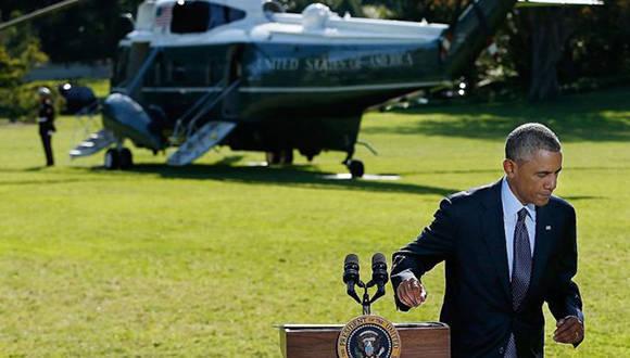 Obama quiso evitar implicar a Estados Unidos en guerras costosas como las de Irak y Afganistán. Foto. Getty.