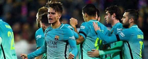 El Barcelona sigue luchando en la Liga Española. Foto: ESPEN