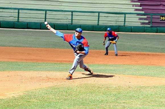 Lázaro Blanco, el mejor pitcher de la temporada. Foto: Katheryn Felipe/Cubadebate.