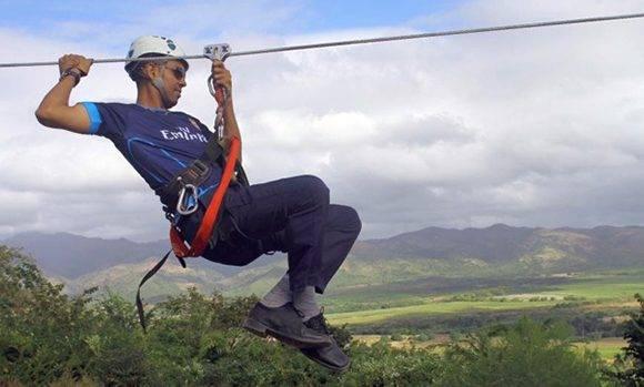 La inversión en el canopy rebasa los 107 mil pesos en moneda total. Foto: Periódico Escambray.