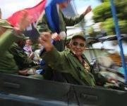 Excombatientes participaron en el recorrido. Foto: ACN.