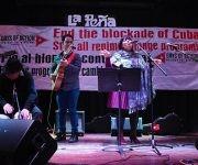 El concierto fue expresión de solidaridad y gratitud eterna a Fidel. Foto: Bill Hackwell.