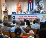 Sesiona en Cuba primer Taller Nacional de Cooperativas. Foto: Prensa Latina.