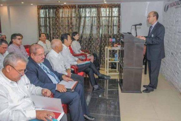 El intercambio cubano -chino estuvo encabezado por el Ministro de Industrias Salvador Pardo Cruz. Foto: PL