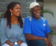 Glover junto a su esposa Eliane Cavalleiro. Foto: Francisnet Díaz Rondón/ CMHW.