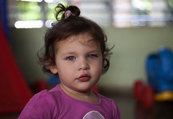 Gema, el primer fruto del amor entre Gerardo y Adriana Pérez. Foto: Ladyrene Pérez/ Cubadebate.