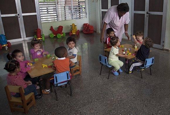 "En el círculo infantil de Gema,""Canto a la esperanza"". Foto: Ladyrene Pérez/ Cubadebate."