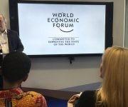 En esta edición de Davos hubo varias discusiones sobre cómo repartir más los beneficios de la globalización. Foto: The New York Times.