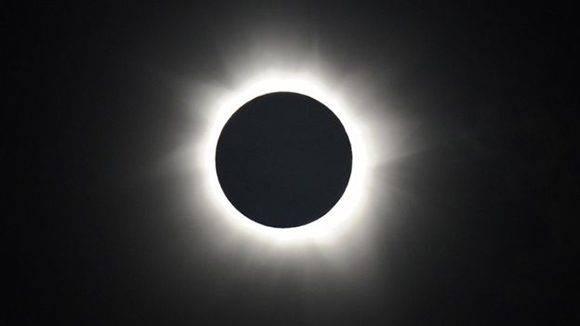"""El """"anillo de fuego"""" se verá en Sudamérica con el eclipse de sol anular. El mejor punto será la región de la Patagonia argentina y el sur de Chile. Foto: Getty."""