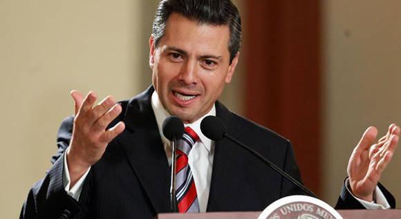 """Enrique Peña Nieto, presidente de México, asegura que su país no pagará el muro que desea construir Donald Trump en la frontera con Estados Unidos. Foto tomada de """"El Debate"""" (debate.com.mx)."""