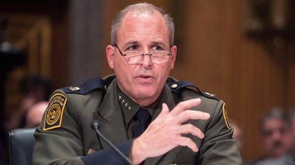 El ex jefe de la Patrulla Fronteriza de EE.UU., Mark Morgan.Nicholas KammAFP