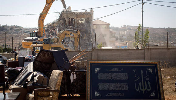 Israel rompe récord de demoliciones en 2016 en Cisjordania y Jerusalén Este. Foto: Getty Images.