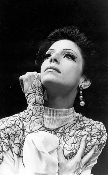 """Josefina Méndez en """"Tarde en la siesta"""". Foto: Cortesía del Ballet Nacional de Cuba."""