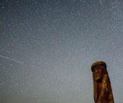 Las Perseidas son una de las lluvias de meteoros más visibles y de las que más número de avistamientos hay. Foto. Getty.