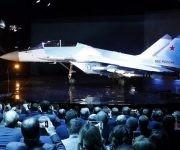 El caza Mig-35, una nave multifuncional de última generación. Foto: EFE.