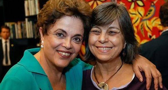 """""""Dilma representa una mujer luchadora, que no tiene nada que ver con los estereotipos de la feminidad tradicional"""", dice Nalú. Foto: Notas."""