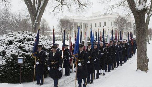 La Casa Blanca estuvo en pie de guerra los 8 años. Foto: AFP.