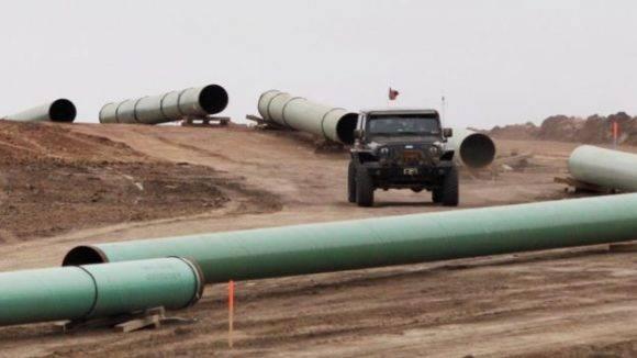 La construcción del Dakota Access fue detenida por la administración Obama debido a las protestas de los grupos indígenas. Foto: Reuters