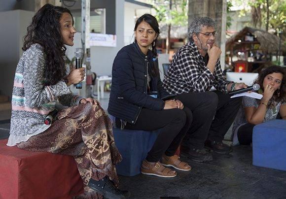 "Inauguración del 12 Taller Internacional sobre Paradigmas Emancipatorios ""Berta Cáceres Vive"". Foto: Ladyrene Pérez/ Cubadebate."
