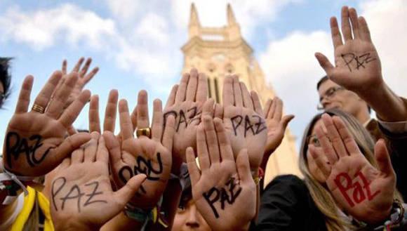 """""""El paz ha ocupado el centro y ya no la guerra"""", resaltó Cepeda. Foto: Semana."""