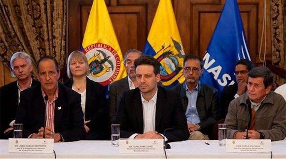 El próximo 7 de febrero se instalará la mesa de diálogos en Ecuador. | Foto: @RadioSantiagoec/ Twitter.
