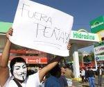 Protestas en México por gasolinazo y contra la gestión del presidente Enrique Peña Niweto Foto: EFE.
