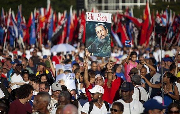 Revista Militar y Marcha del Pueblo Combatiente el 2 de enero de 2017 en La Habana, Cuba. Foto: Ladyrene Pérez/ Cubadebate.