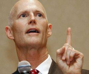 El republicano Rick Scott, gobernador de Florida. Foto: Salon Magazine.