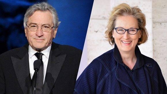 Robert De Niro salió en defensa de Meryl Streep, debido a la polémica con Donald Trump. Foto: Variety.