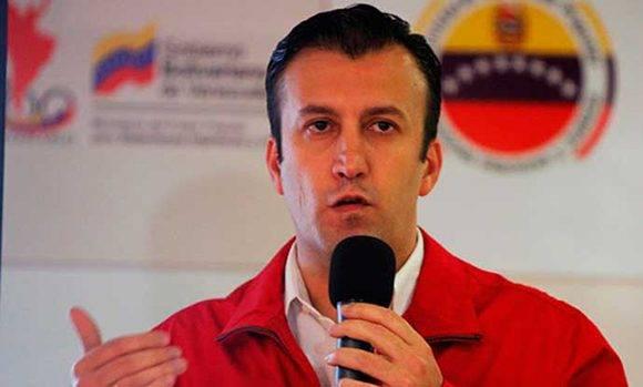 El vicepresidente de Venezuela, Tarek El Aissami, fue el encargado de anunciar la detención del ciudadano con antecedentes criminales .