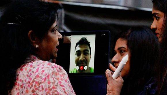 La empresa decía que ofrecía servicios de comunicación por internet. Foto: AFP.