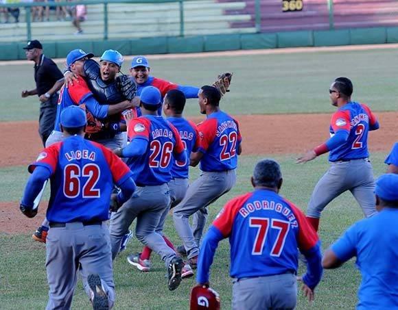 La alegría del triunfo. Foto: Katheryn Felipe/Cubadebate.