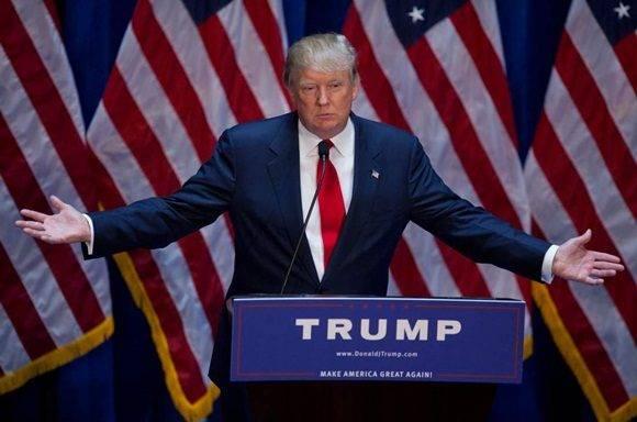 Estados Unidos ya tiene bastantes problemas en todo el mundo como para crearse uno más, asegura el presidente electo, Donald Trump. Foto: Victor J. Blue/Bloomberg via Getty Images