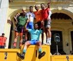 12ma etapa del IV Clásico Nacional de Ciclismo. Los ganadores de los lideratos. Foto: Calixto N. Llanes / Juventud Rebelde