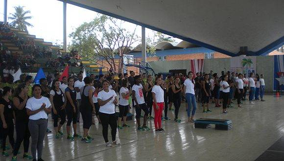 Participantes en el FITT- Cuba 2017. Foto: Thalía Fuentes
