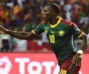 Aboubakar celebra el gol de la victoria. Foto: Issouf Sanogo/ AFP.