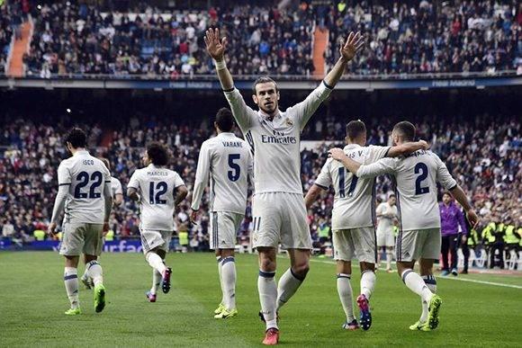 El Ral Madrid se reafirma como líder tras otra victoria en el Bernabéu. Foto: Javier Soriano/ AFP.
