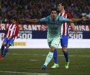 Suárez celebra su anotación. Foto: RTRPIX.