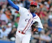 Beisbol-Serie del Caribe-Culiacan 4to partido cuba vs mex Vladimir Baños lanzador x cuba