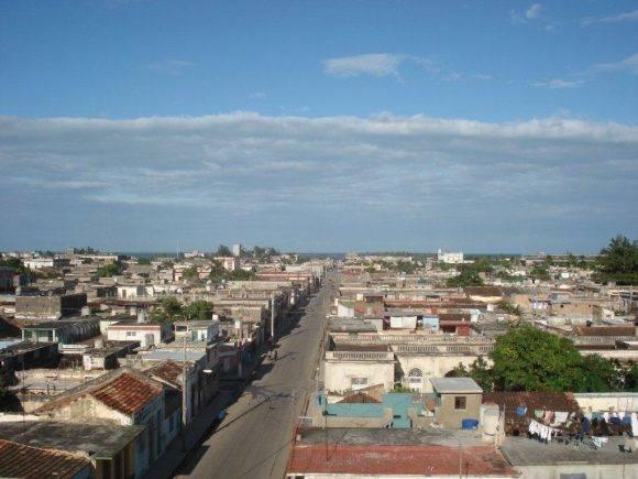 La ciudad de Cárdenas vista desde el Museo a la Batalla de Ideas. Foto: María Dolores López Vilorio / Cubadebate